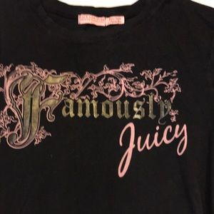 Juicy Couture Tops - Authentic Juicy Couture t- shirt size M